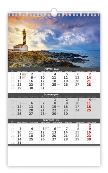 Stylové reklamní kalendáře 2018 vytvoříte podle svých představ