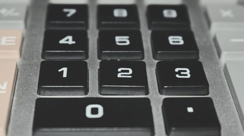 Calculator Account Figures Tool  - NomeVisualizzato / Pixabay