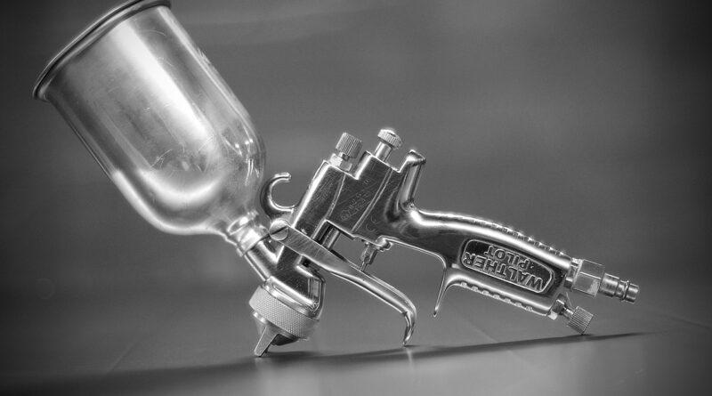 Spray Gun Cup Spray Gun  - 16850449 / Pixabay